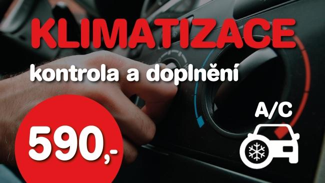 Klimatizace kontrola doplnění Brno
