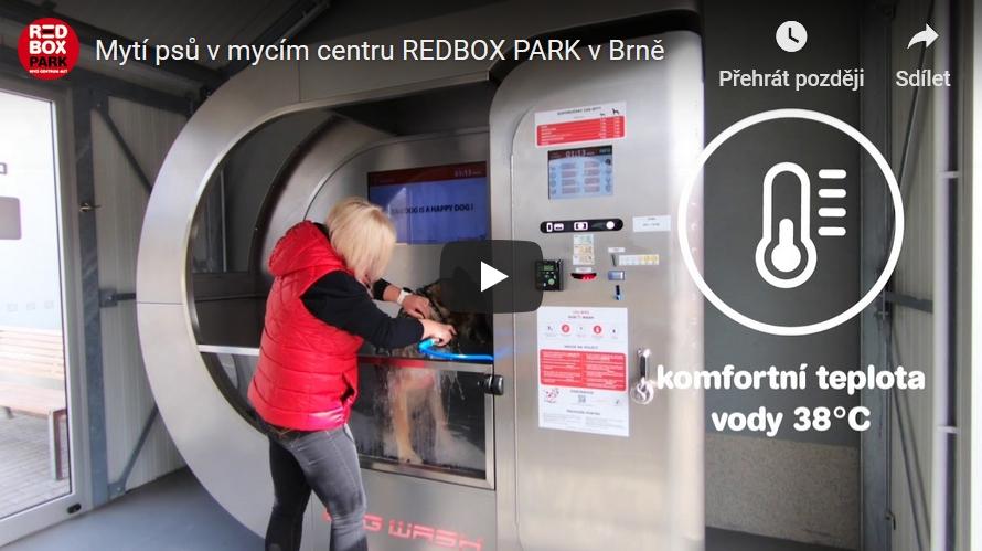 psí myčka mytí psů Brno Dogwash redbox park