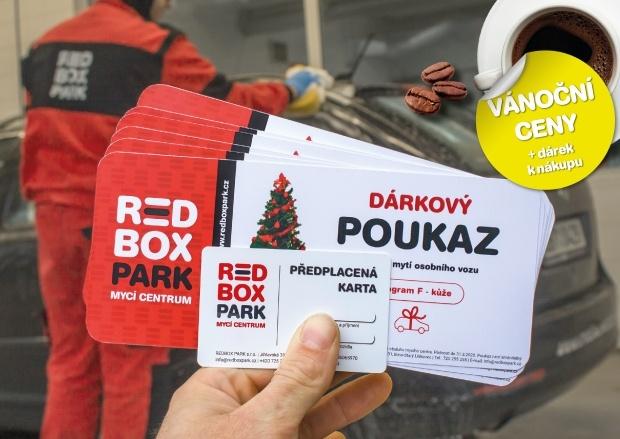 Ruční mytí auta dárek Brno